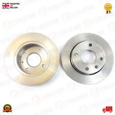 PAIR OF FRONT BRAKE DISKS FOR FORD ESCORT COURIER FIESTA ORION PUMA,98AT 1125 AA
