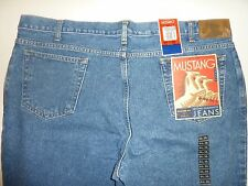 "BIG MENS ""MUSTANG"" JEANS, SIZE:  44 X 30, RELAXED FIT,              #5"