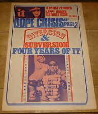 INTERNATIONAL TIMES IT MAGAZINE NEWSPAPER 1970 NO. 90 GERMAINE GREER FREAK BROS