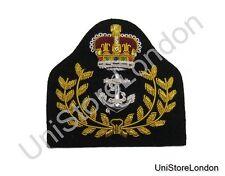 Badge Warrant Officer Cap Badge Queen's Crown RN R1334
