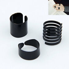 Hot Charm Jewelry NEW Korean Stars Hot Blacks 3 pieces one set Women Rings BLACK
