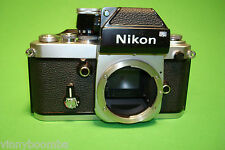 VINTAGE NIKON F2 FILM CAMERA BODY ONLY SERIAL # 7243299 READY FOR WORK !!!!
