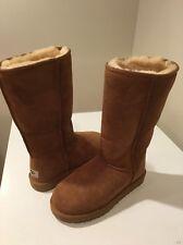 New Chestnut Ugg Classic Tall Women Boots SZ 7 Women's Fall ����SALE����