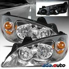 2005-2010 Pontiac G6 Replacement Headlights Head Lamps Left Right Pair