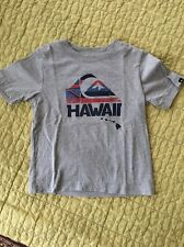 Quiksilver T-  Shirt for Toddler Boys - Size 4 T - Gray- Feat HAWAII