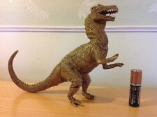 Vintage Rubber Allosaurus Dinosaur Figure Made In China Marked 22