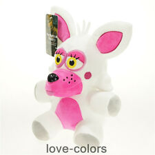 "9.8"" New FNAF Five Nights at Freddy's Pink Mangle Stuffed Soft Plush Toy Doll"