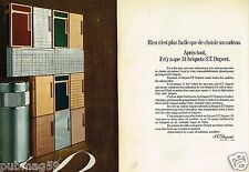 Publicité advertising 1972 (2 pages) Les Briquets ST Dupont
