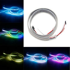NEW Flexible WS2812B 5050 RGB LED Strip Lights 144 Individual Black 5V