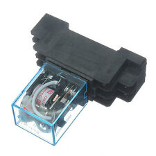 With Socket Base AC 220V Coil Power Relay 10A DPDT LY2NJ HH62P HHC68A-2Z