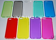 Custodia Cover Case Per iPhone 5C Ultra Slim Silicone Trasparente Flessibile Gel