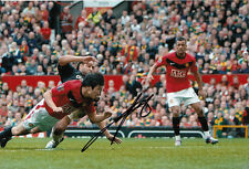 Manchester United Hand Signed Park Ji-Sung Photo 12x8 1.