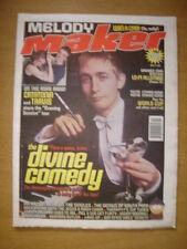 MELODY MAKER 1998 APR 4 DIVINE COMEDY CATATONIA TRAVIS