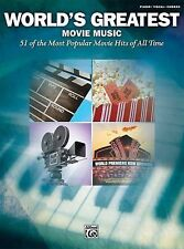 World's Greatest Movie Music: Piano/Vocal/Chords by