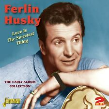 FERLIN HUSKY - LOVE IS THE SWEETEST THING 2 CD NEU