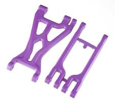 RPM 82018 Left Front/Right Rear A-Arm Set Purple HPI Savage X/Flux/XL