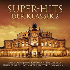 SUPER-HITS DER KLASSIK 2 DOPPEL-CD NEU