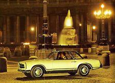 """1966 - MERCEDES """"230 SL"""" - Cabriolet & HardTop - French sales brochure, folder"""