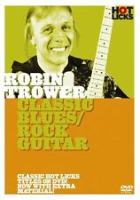 LEARN TO PLAY ROBIN TROWER Classic Blues Rock Guitar HOT LICKS DVD TECHNIQUES