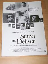 STAND AND DELIVER - Presseheft ´88 - LOU DIAMOND PHILLIPS Andy Garcia