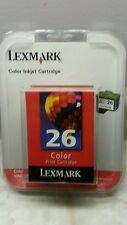 LEXMARK 26 Color Print Cartridge Ink 10N0026