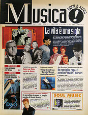 MUSICA 87 1997 David Bowie Sting Ornette Coleman Prodigy Jackson Browne sigle TV
