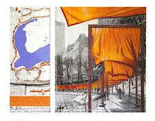 Christo Poster Kunstdruck Bild The Gates XXIII 70x90 cm Kostenloser Versand