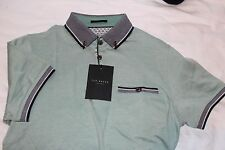 "MEN'S TED BAKER  BNWT'S  100% GENUINE S/S POLO SHIRT TB 1 UK XS 17 "" P2P"