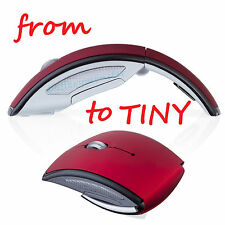 2.4GHz Red Optical Wireless Mouse Mice + USB Receiver for PC Laptop Macbook