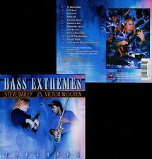 BASS EXTREMES  cookbook  STEVE BAILEY - VICTOR WOOTEN