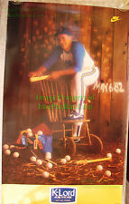 Vintage Gaylord Perry NIKE Poster K-Lord PURE PITCHER MLB SF Giants Whittling