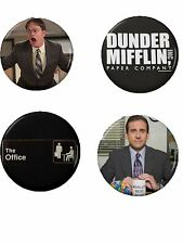 The Office Button Set (4) 1 1/4''