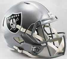 OAKLAND RAIDERS NFL Riddell SPEED Full Size Replica Football Helmet