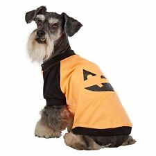 Top Paw Dog Apparel-Light Up Pumpkin tee-shirt-Large-SALE BENEFITS RESCUE