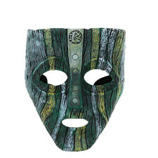 Loki Mask Jim Carrey Film 'The Mask' Green Costume Fancy Dress Halloween Props