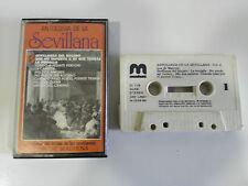 ANTOLOGIA DE LA SEVILLANAS VOL 6 CITA TAPE CASSETTE MUSIVOX 1988 SPANISH EDITION