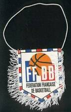 FRANCE BASKETBALL FEDERATION SMALL PENNANT #1 8x11cm