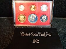 1982-S United States Proof Set with Kennedy Half Dollar