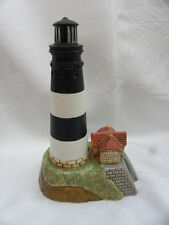 1995 Lefton Musical Ceramic Fire Island Lighthouse by Geo. Z. Lefton, Ebb Tide
