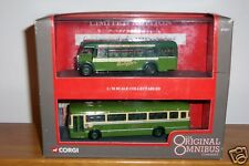 Corgi OOC Leyland PS1 / Leyland Leopard twin set Southdown 97057 MINT boxed