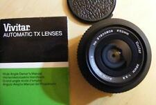 VIVITAR TX  f=35mm 1:2.8 WIDE ANGLE LENS ... VERY GOOD CONDITION
