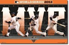 BASEBALL POSTER Pablo Sandoval World Series MVP San Francisco Giants 2012 MLB