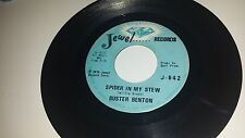 BUSTER BENTON Spider In My Stew / Dangerous Woman JEWEL 842 SOUL 45