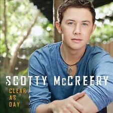 MCCREERY, SCOTTY-CLEAR AS DAY CD NEW (crack on back jewel case though)