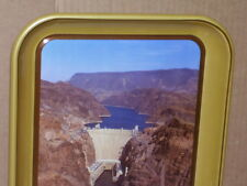 HOOVER DAM - 1935-1985 - 50th Anniversary Tray Sign - VINTAGE COKE 31 Years Old