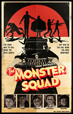 The Monster Squad Grindhouse 11 x 17 Poster Monsters Gore Zombie Horror