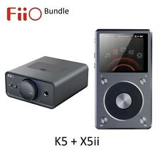 FiiO K5 Desktop Amp/Dock + X5ii Lossless Audio (WAV/FLAC) DAP/DAC BUNDLE