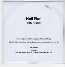 (GN395) Neil Finn, Dizzy Heights - 2014 DJ CD