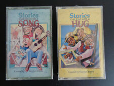 STEPHEN ELKINS Stories That End With a Song & Hug 1993 Cassette Pair NEW Vintage