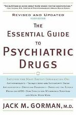 The Essential Guide to Psychiatric Drugs, Revised and Updated, Gorman, Jack M.,